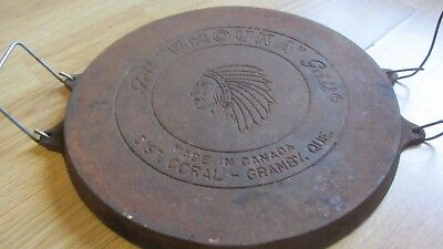 Bhouka Made In Canada Granby Quebec Native Face Logo Vintage