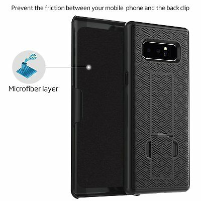 Samsung Galaxy Note 8 Belt Clip Case: LOVPHONE Secure Holster Shell & Kic