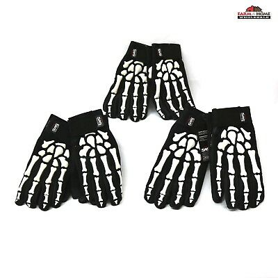 (2) SAS BoneZ Impact Resistant Gloves 6730 ~ Choose Your Size ~ New ~ Free Ship