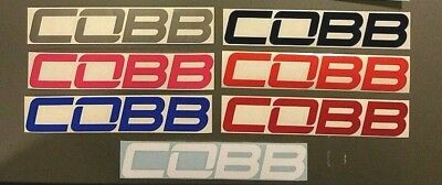 "COBB Tuning Logo decals stickers 6"" / 15cm - Buy 1 Get 1 Free"