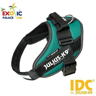 Julius-K9 Idc Powerharness Dark Green Harness Green For Dog Nylon Resistant