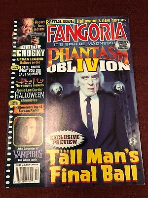 Fangoria Magazine #177. Phantasm, Oblivion Halloween,The Dentist. October 1998