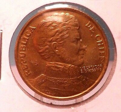 Circulated 1978 1 Peso Chilian Coin!