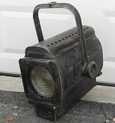 Rare Large Major Theater Stage Light Spot Lamp Industrial Light