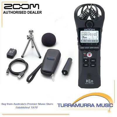 Zoom H1n Handy Digital Recorder with APH-1N Accessories Pack