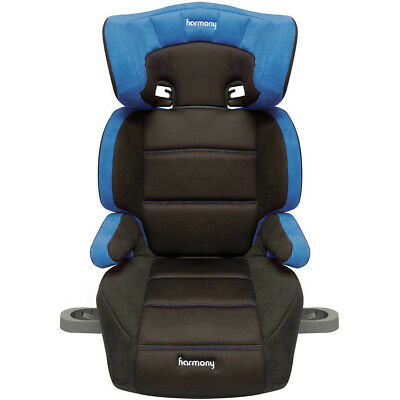 Harmony Juvenile Dreamtime Deluxe Comfort High Back Booster Car Seat Blue