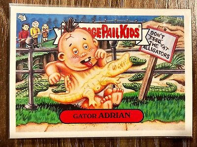 GARBAGE PAIL KIDS 2004 ANS3 Bonus Card B3 Gator Adrian (Sealed) Mint GPK