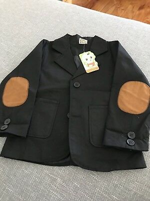 Suit Type jacket for boys, Black , size 110(approx 4-5)