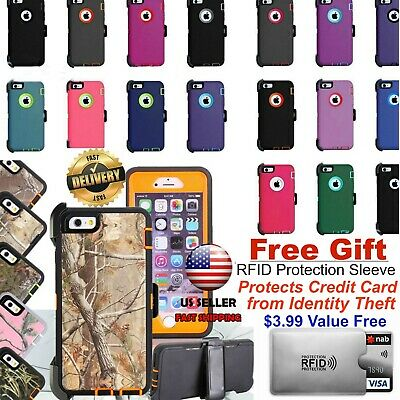 Defender Case Cover For Apple iPhone 8/7 Plus, 8/7 (Clip Fits Otterbox Defender)