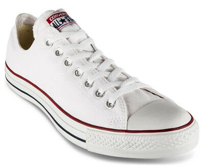 Converse Chuck Taylor Unisex All Star Lo Top Shoe - Optic White US 8 (S264)