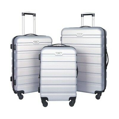 Travelers Club Unisex  3-Piece Expandable Hardside 2-in-1 Luggage Set