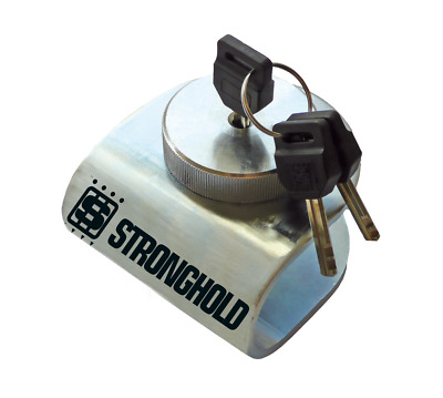 Stronghold Hitch lock For Brian James Ifor Trailer braked Towing Eye Coupling