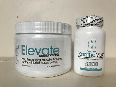 Elevate Smart Coffee Nootropic Happiness Energy And Xanthomax 30
