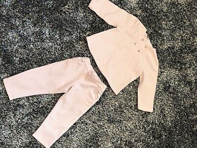 Immaculate Worn Twice - Chloe Pink Tracksuit - Age 2 Years
