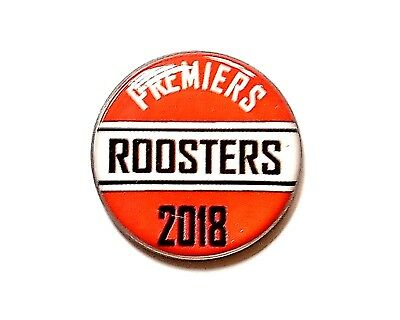 anneys ~ GOLF  BALL  MARKER - Premiers 2018 Roosters - nrl ~