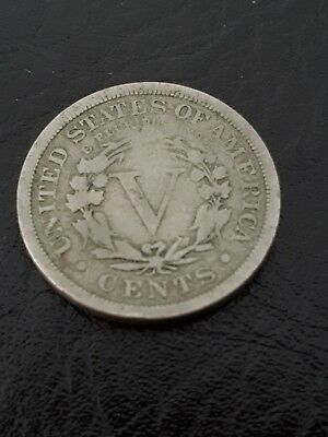 1899 nickel USA