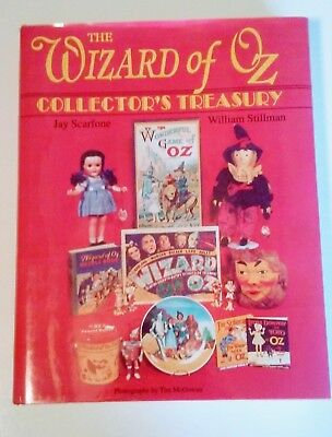 1992 The Wizard of Oz Collector's Treasury HC BOOK + VALUE GUIDE Jay Scarfone