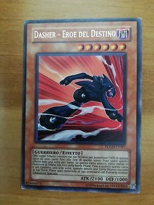 Yu-Gi-Oh! Dasher Eroe Del Destino POTD-IT017 Potere del Duellante Rara 1st Edition
