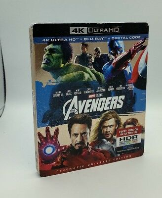 Avengers, The (4K Ultra HD+Blu-ray+Digital, 2018; 2-Disc Set) NEW w/ Slipcover