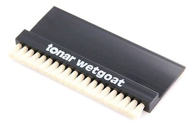 Tonar Wetgoat Record Cleaning Brush. Goat Hair for Wet Vinyl LP Clean. DECO