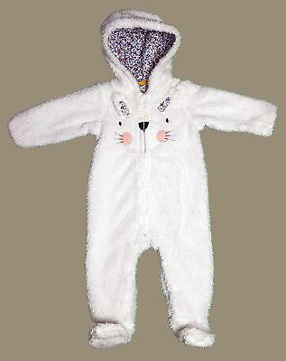 New with tags Mothercare 9-12 mths fluffy bunny pramsuit mothercare pramsuit