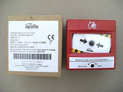 £24 Apollo SA5900-908APO XP95 Discovery Addressable Intelligent Call Point