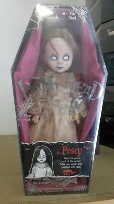 Living Dead Dolls Posey Serie 13th anniversary Mezco Horror Puppe sealed doll
