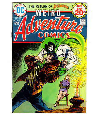 ADVENTURE COMICS #435 in VF condition a 1974 DC comic with SPECTRE & AQUAMAN
