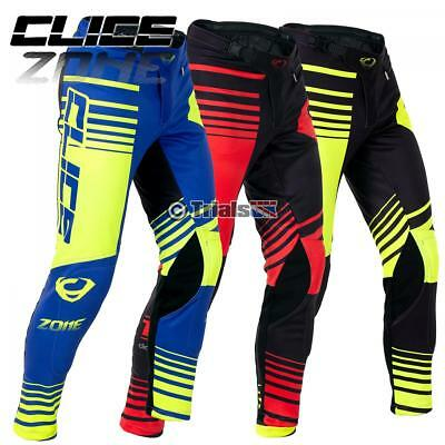 2019 Clice Zone Trials Pro Competition Pants- Offroad Riding Trousers