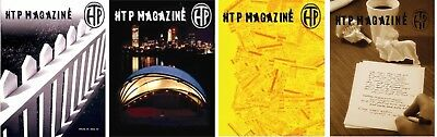 HANSON - HTP MAGAZINE COLLECTION - NEW - SET of all four !!