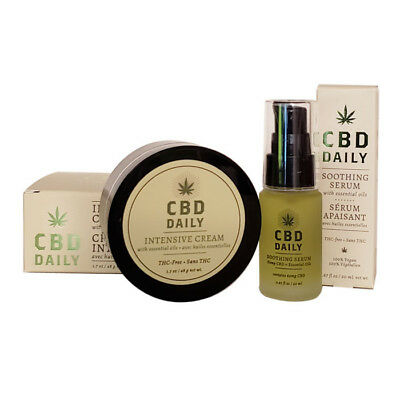 Daily Intensive Cream 1.7 oz and Soothing Serum 0.67 oz Set