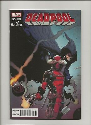 Deadpool 45 NM 9.4 Hastings Exclusive Variant Cover Death of Deadpool 2015
