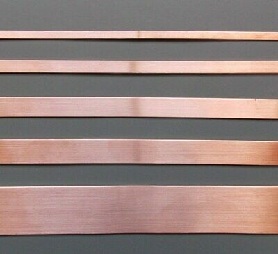 Copper Strip -Tape - Bar - 4mm - 6mm - 8mm - 10mm - 12mm -15mm