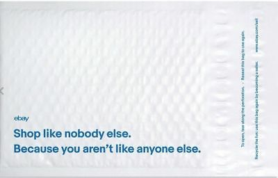"""Lots eBay Branded Padded Airjacket Bubble Mailers 6.5"""" x 8.75"""" - 15 Envelopes"""