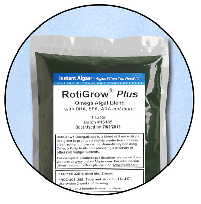 RotiGrow Plus™ Rotifer & Brine Shrimp Feed / Enrichment Phytoplankton, Phyto