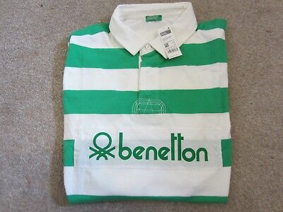 eb346489171 MENS BNWT BENETTON rugby polo shirt size uk XXL and pit to pit 25