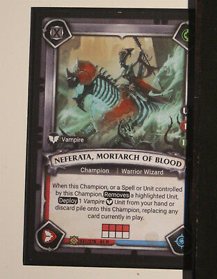 Warhammer Age of Sigmar Champions TCG - Neferata, Mortach of Blood *Unclaimed*