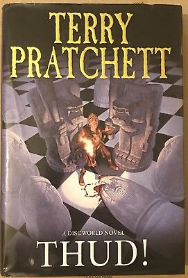 Thud! Signed By Terry Pratchett Doubleday 2005 First Edition Hardback