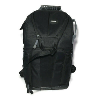 Vivitar DKS-20 Camera /DSLR / Laptop Sling Backpack Medium Bag Black