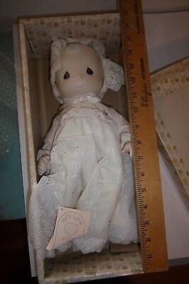 Precious Moments Porcelain Bisque Doll Katie Lynne  In Original Box USA Only