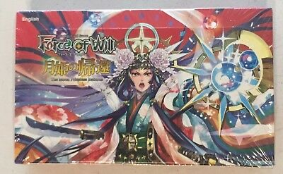 Force of Will TCG The Moon Princess Returns SEALED Booster Box (36 packs)
