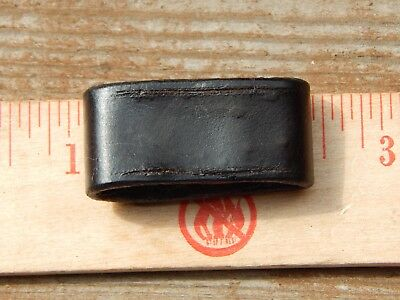 M1 Garand Springfield 03 <<.krag?>> Leather M1907 Sling Keeper  Vg Condition..