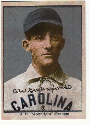 MOONLIGHT GRAHAM BASEBALL card UNC North Carolina Tar Heels - $2.99 |  PicClick