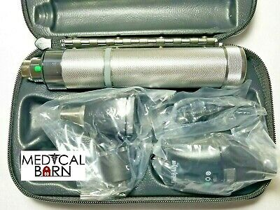 Welch Allyn Diagnostic Set Complete With Otoscope, Ophthalmoscope, Handle & Case