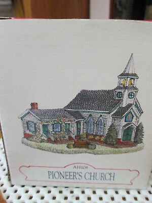Liberty Falls Pioneer's Church AH108 With Box Excellent