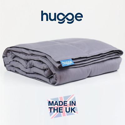 BRITISH MADE - Hugge Kids & Adults Weighted Gravity Blanket - *ALL WEIGHTS* UK