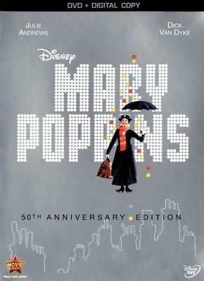 Disney's Mary Poppins: 50th Anniversary Edition (DVD) New! FREE SHIPPING!!