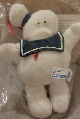 Monster Factory Ghosbuster Stay Puft Marshmallow Man Plush 9'' New