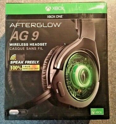PDP Afterglow AG9 Wireless Gaming Headset for Xbox One & PC