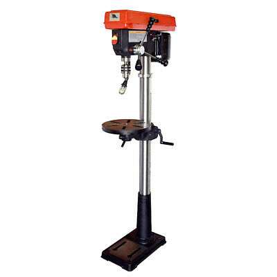 Toolots 13-Inch 16 Speed Floor Drill Press with Light and Laser UL Listed